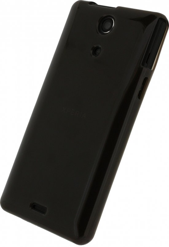 Xccess TPU Case Sony Xperia ZR Transparant BlackXperia Zr Black