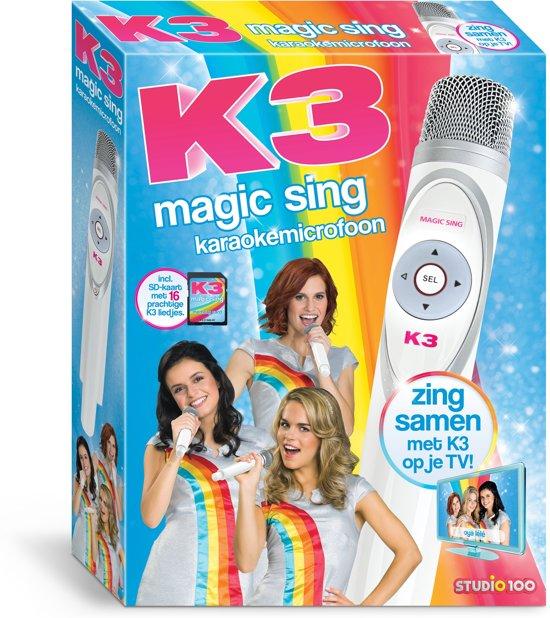 K3 karaoke microfoon Studio 100 Magic Sing in De Kooi