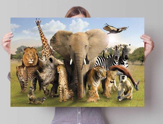 Reinders poster wild world poster 91 5 61 cm no 23067 - Foto van de eetkamer ...