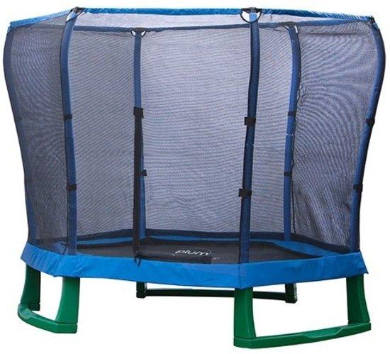 Plum Junior Jumper Trampoline - 220 cm - Inclusief Veiligheidsnet - Blauw in Wieze
