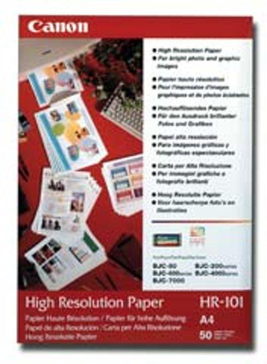 Canon HR-101N hoge resolutie papier - A4 / 50 vellen