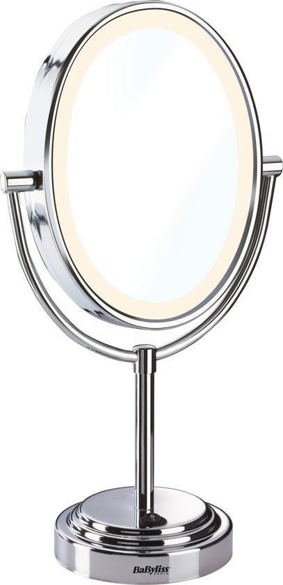 Babyliss spiegel met ringverlichting 8437e for Vergrotende spiegel