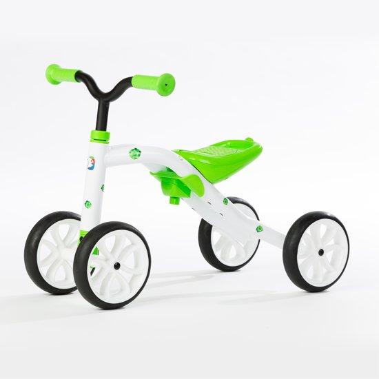 Quadie - Loopfiets met 4 wielen - Lime in Vitrival