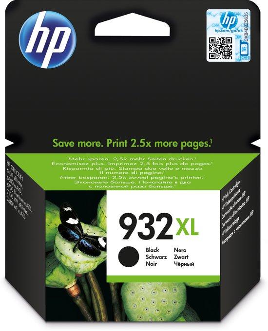 HP 932XL - Inktcartridge / Zwart / Hoge Capaciteit (CN053AE)
