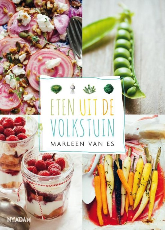 Cover Eten uit de volkstuin van Marleen van Es