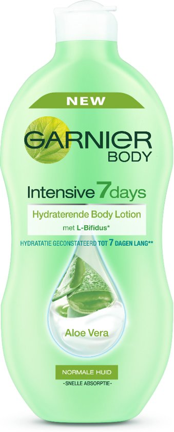 garnier body intensive 7 days aloe vera 400ml bodymilk. Black Bedroom Furniture Sets. Home Design Ideas