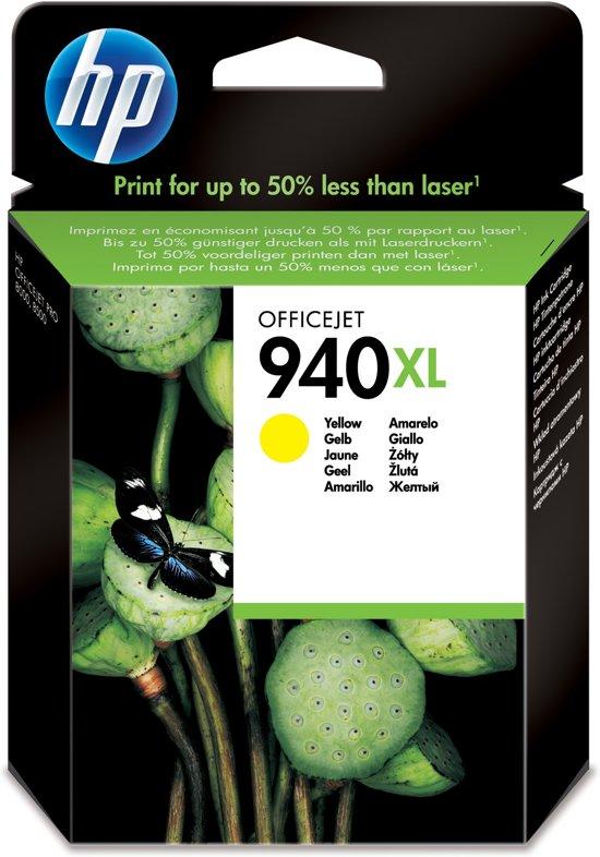 HP 940XL - Inktcartridge / Geel / Hoge Capaciteit (C4909AE)
