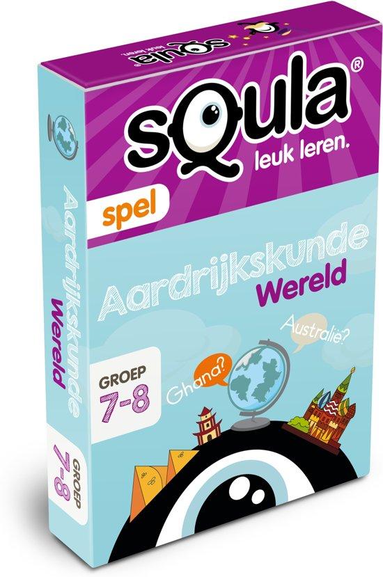 Squla Aardrijkskunde - Kaartspel in Arwerd