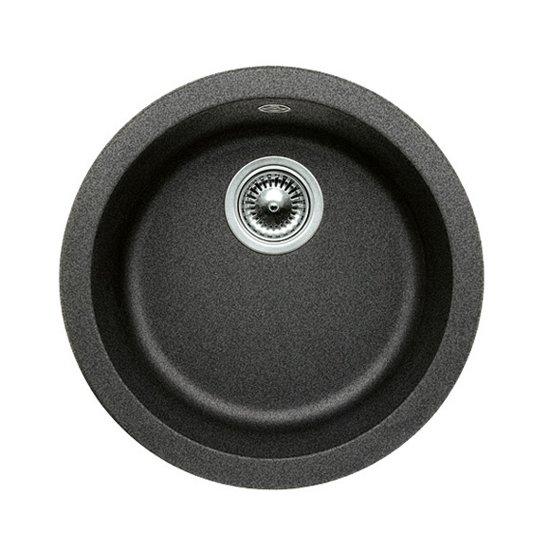 Spoelbak Keuken Zwart : bol.com Ronde spoelbak Blanco Rondo opbouw zwart. 511629 Klussen