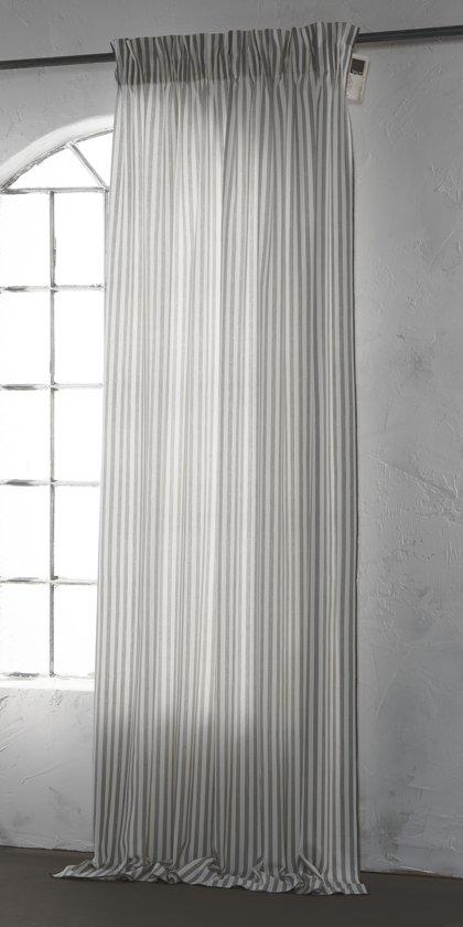 Bytzum myrhauk kant en klaar gordijn grijs 140x270 cm per stuk - Herbergt s werelds gordijnen ...