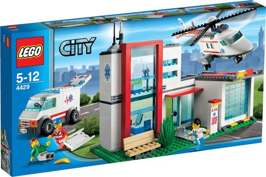 LEGO City Reddingshelikopter - 4429