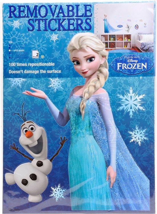 bolcom muurstickers disney frozen 2st