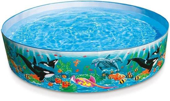 Intex snap set oceaan rif zwembad 183 x 38 cm for Zwembad rond 3 meter intex