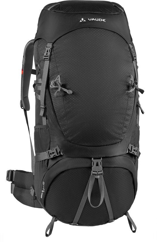 vaude astrum 60 10 backpack 60 liter zwart. Black Bedroom Furniture Sets. Home Design Ideas