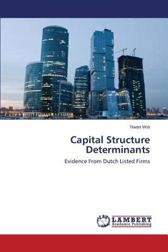 effect of capital structure on firm performance