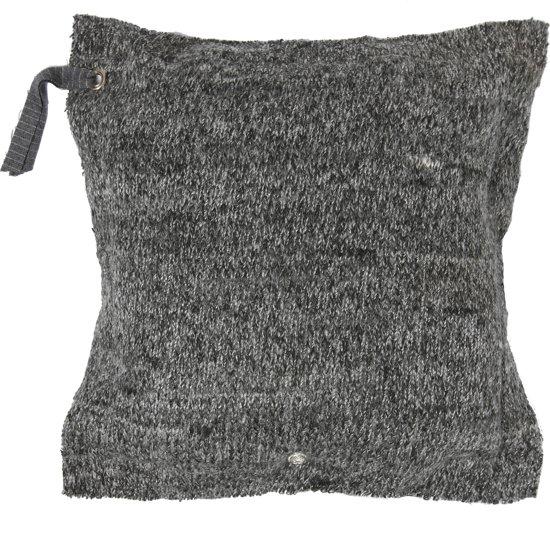 bol.com : Stapelgoed sierkussen Stone - Grijs - 60 x 60 cm : Wonen