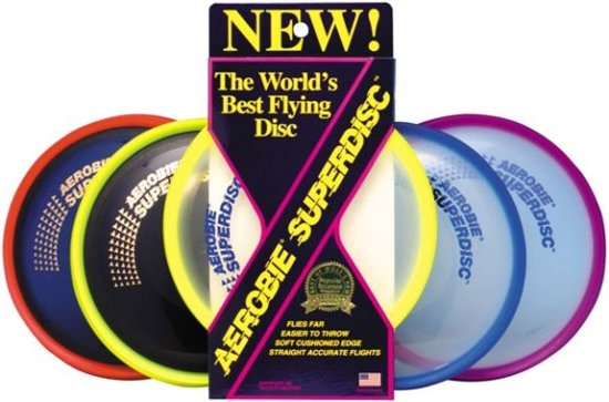Funsports AEROBIE Superdisc frisbee in De Eek
