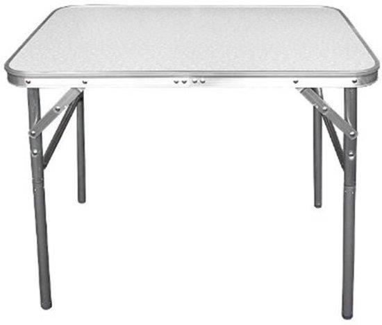 Aluminium inklapbare tafel campeertafel 75x55x60cm for Inklapbare tafel