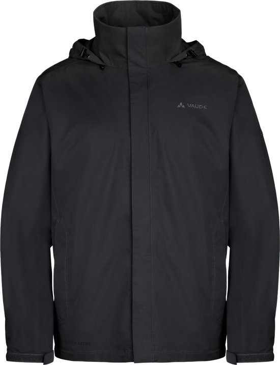 Vaude Escape Light Jacket - Regenjas - Mannen - Maat XXL - Zwart in Nij Altoenae
