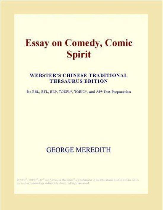essay comedy meredith