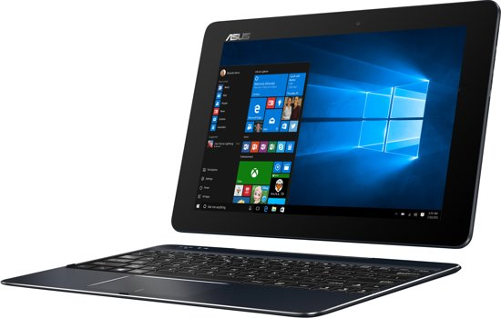 Asus T100CHI-FG003T - Hybride Laptop Tablet / Blauw