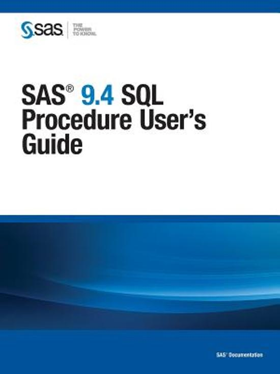 sas 9.4 user guide