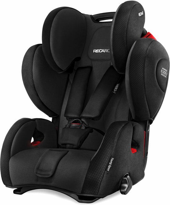 recaro young sport hero black. Black Bedroom Furniture Sets. Home Design Ideas