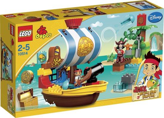 LEGO DUPLO Jake en de Nooitgedachtland Piraten Jake's Piratenschip Bucky - 10514 in Oudergem