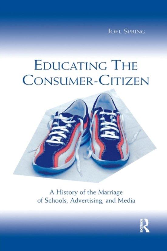 Educating the Consumer Citizen