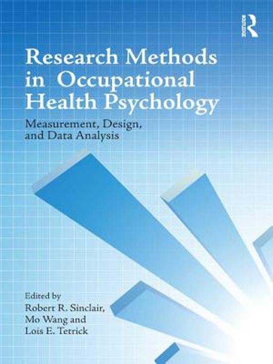 occupational research paper