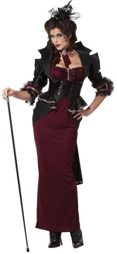 California Costumes Lady of Manor-XL in Morville
