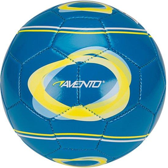Avento Mini Voetbal - Elipse-2 - Blauw/Geel/Wit - 2 in Rimpelt