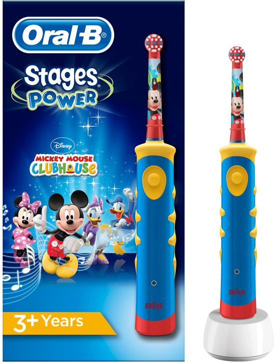 oral b stages power kids met disney mickey mouse elektrische tandenborstel. Black Bedroom Furniture Sets. Home Design Ideas