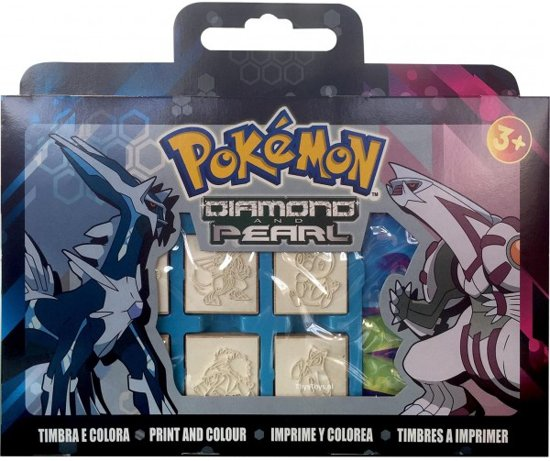 Pokémon stempelset 12 dlg. in Norgervaart