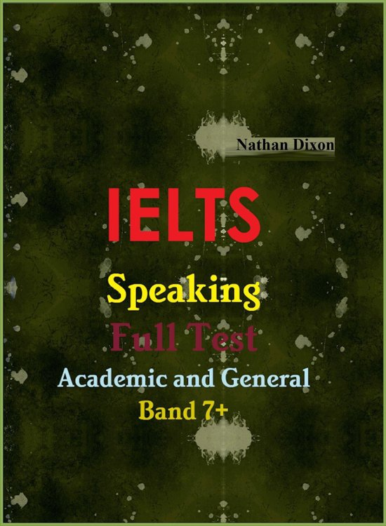bol.com | IELTS Speaking Full Test: Academic and General ...