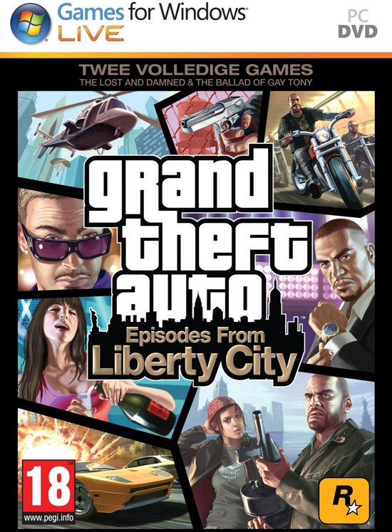 Grand Theft Auto IV (GTA IV) - Episodes From Liberty City