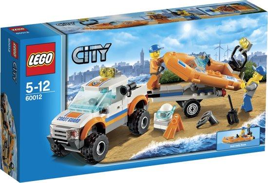 LEGO City 4x4 & Duikersboot - 60012 in Vrouwenparochie / Froubuorren