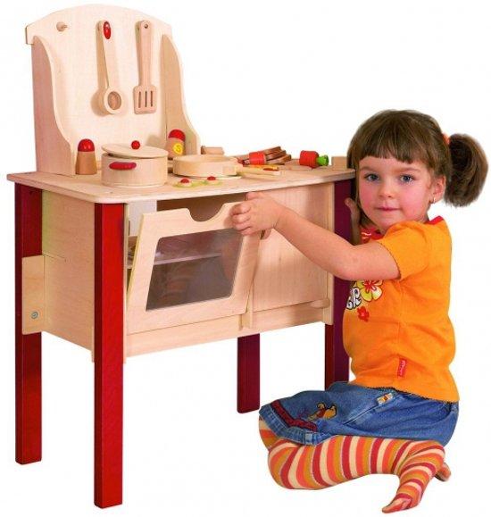 Speelgoed Keuken Accessoires Plastic : bol.com Houten speelgoed keuken met accessoires Speelgoed