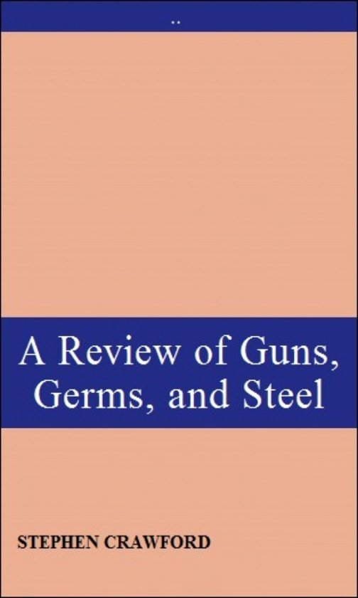 guns germs steel review essay Guns germs and steel movie essay tower baku essay about myself the oblivious empire essay now online: my review essay on the historical background and.