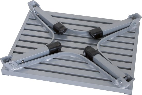 Eurotrail Caravanopstapje - Aluminium - Groot in Oling