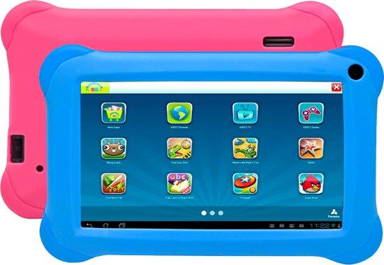 Denver TAQ-70262 - Kids Tablet - Blauw/Roze - Met Kido'z Software