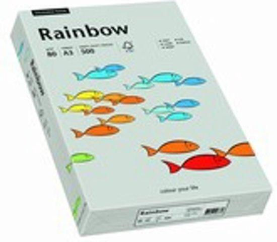 Rainbow gekleurd papier A4 160 gram 96 grijs 250 vel