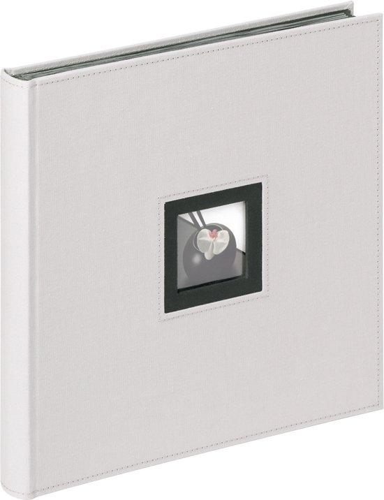 Walther Design FA-217-G Black & White - Fotoalbum - 30 x 30 cm - Grijs - 50 pagina's in Rijkebuurt