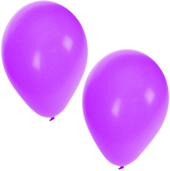Paarse ballonnen 100 stuks in Stokhem