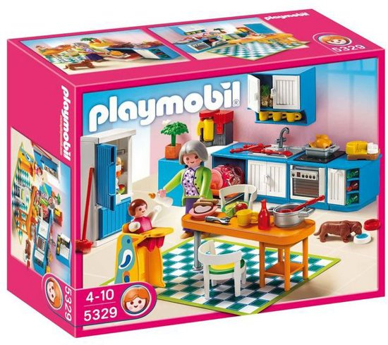 playmobil keuken 5329 playmobil. Black Bedroom Furniture Sets. Home Design Ideas