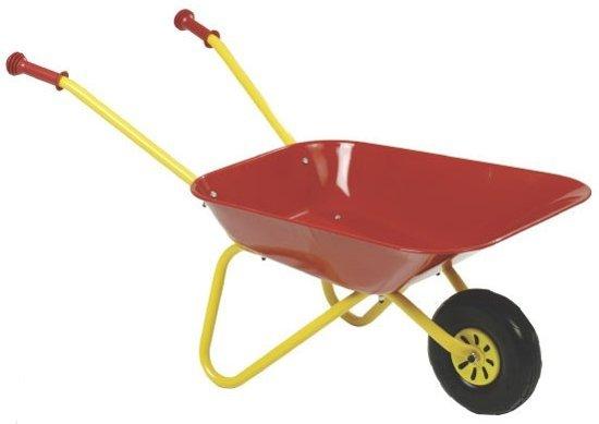 Rolly Toys Metalen Kruiwagen - Rood