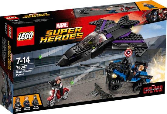 LEGO Super Heroes Black Panther Pursuit - 76047 in Helkant