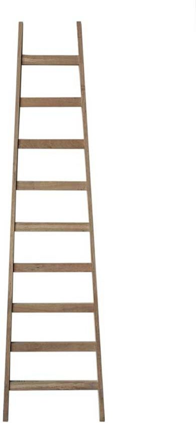Bol Com Decoratie Ladder Hout Naturel