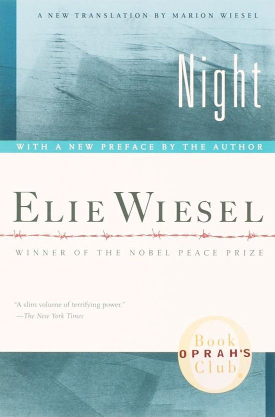 elie wiesel night de humanization Night by: elie wiesel night is a memoir by elie wiesel that was first published in 1960 get a copy of night at bncom buy now summary plot overview .