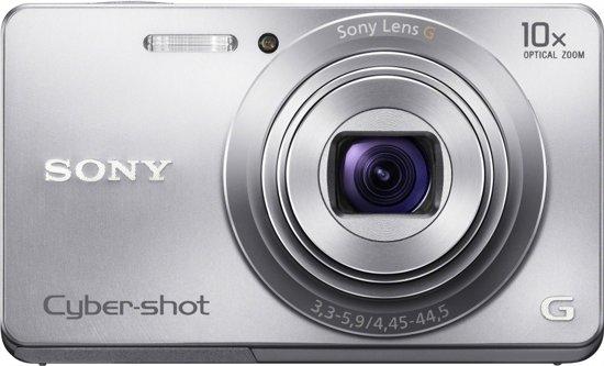 Sony Cybershot DSC-W690 - Zwart